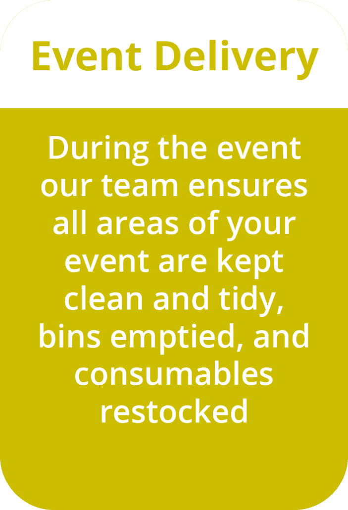 Event Step 3 - Event Cleaning Specialist