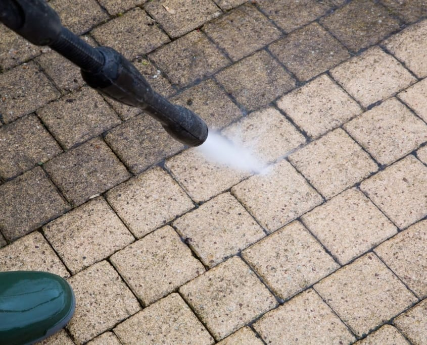 High Pressure Water Cleaning - Hard Surface Cleaners